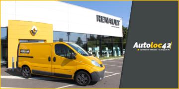 Location Master jaune Renault Liogier Automobile Loire 42 Saint-Etienne