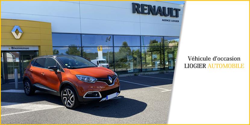 Occasions Renault Captur Liogier Automobile Loire 42 Saint-Etienne