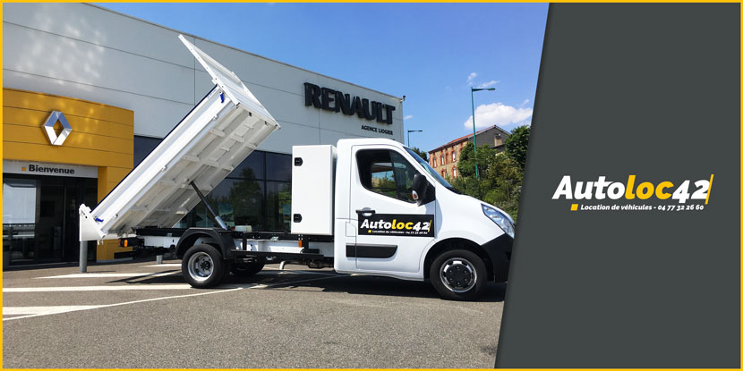 Location Renault Master-benne Liogier Automobile